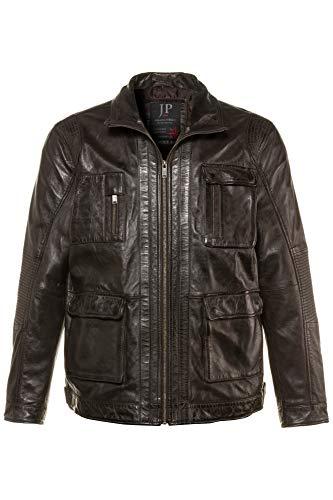JP 1880 Herren große Größen bis 7 XL, Lederjacke aus echtem Lamm-Leder, leichtem Used Look,...