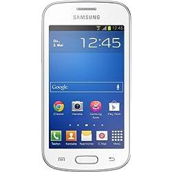Samsung Galaxy Trend Lite Smartphone (10,16cm (4Pouces) Écran TFT, 1GHz, mémoire RAM 4Go, Appareil Photo 3,2Mpx, mémoire Interne 4Go, USB 2.0, Android 4.1)