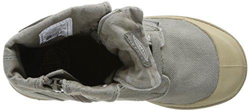 Palladium Baggy Zipper K, Unisex-Kinder Stiefel Grün (Concrete/Putty)