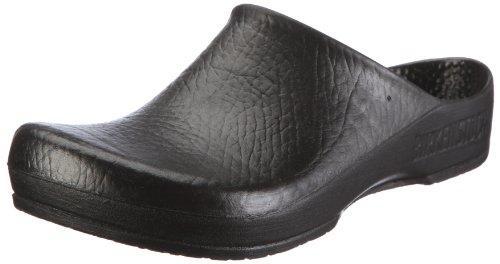 Birki KLASSIK BIRKI AS 67011 Unisex-Erwachsene Clogs & Pantoletten, Schwarz (BLACK), EU 46 (Birkis Schwarz Clogs)