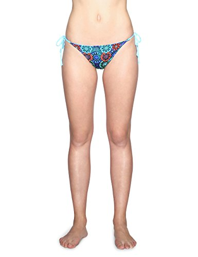 Desigual Biki_Eve Braguita de Bikini, Azul Turquoise 5070, Talla del Fabricante: Medium para Mujer...