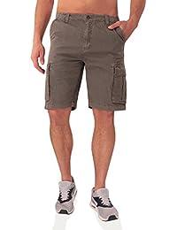 PRODIGY Ripstop Herren Cargo Shorts - 100% reißfeste Ripstop-Baumwolle - viele Details - Größen W30-W40 und verschiedene Farben wählbar.