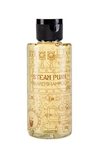 Steam Punk Bartshampoo - by Pan Drwal & Adam Szulc Barber | Shampoo für Bartträger | natürliche Bartpflege | pflegt Barthaare | vom Profi-Barbier entwickelt | frischer und männlicher Duft | 150ml