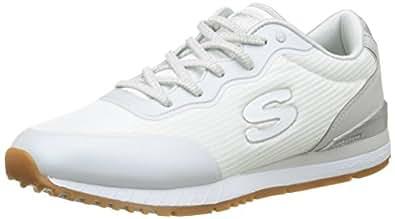 Skechers Sunlite-Vega, Baskets Enfiler Femme, (White), 37 EU