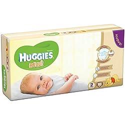 Huggies - Bebè - Pañales - Talla 2 (3 - 6 kg) - 40 pañales