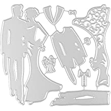 Stencil Set |Stencil Plantillas de Plástico Reutilizables para Diario, Pintura, Scrapbooking,Diario