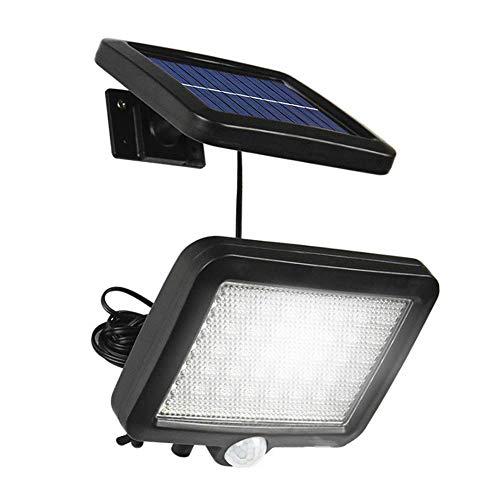 JulySeeYouz Solar-Wandleuchten, 56 LED Trennbare Solarleuchten Bewegungs-Sensor Sicherheits-Leuchten Wasserdichten Outdoor-Wandleuchten Für Gärten/Zaun/Hof/Treppe/Balkon