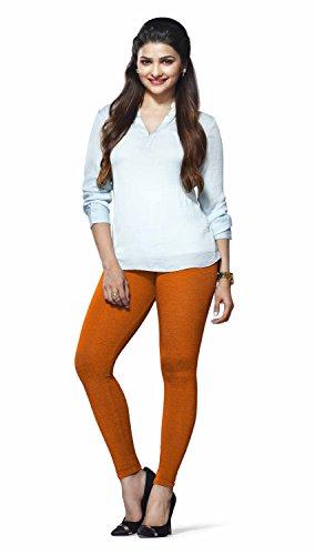 Lux Lyra Women\'s Ankle Length Leggings -Orange