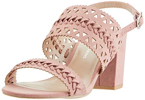 Dorothy Perkins Shugar, Scarpe col Tacco con Cinturino Dietro la Caviglia Donna, Rosa (Pink 169), 39 EU