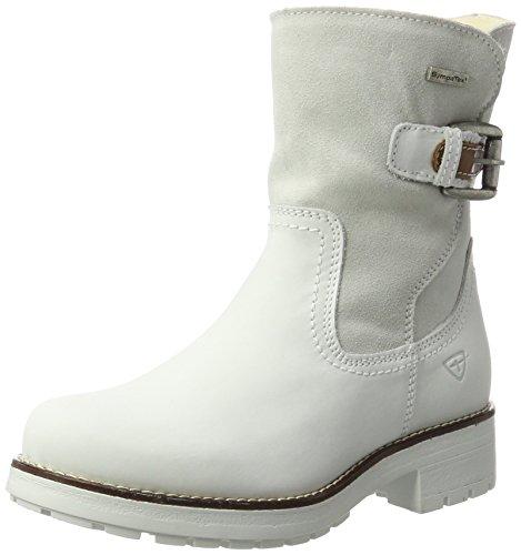 Tamaris Damen 26912 Stiefel Weiß (White Comb) 41 ()