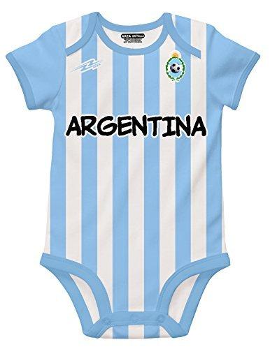 Argentina Soccer Blanco Bebé (Body onesi mameluco