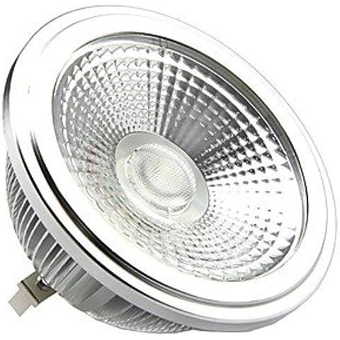XMQC*Atenuable 111 G53 10W 1000 3000K Luz Lámpara LED Blanca(220-260V)