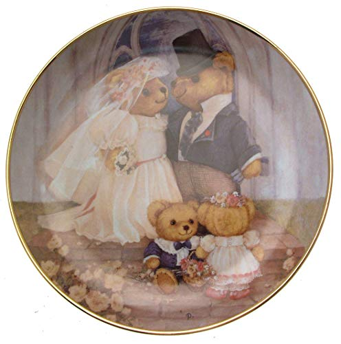 Franklin Teller Mint-Just Married-Patricia Brooks Teddy-Teller, CP1019 Franklin Teller