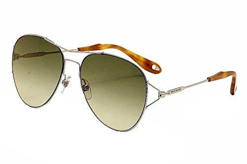 Givenchy Occhiali da sole unisex 7005010/CS, Palladio/Green gradient, Gold Mirror, antireflective struttura in metallo