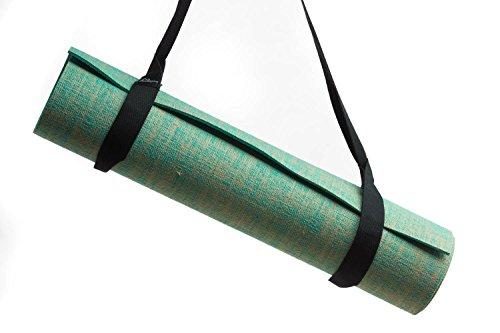 Zeller Active Yogamatte Tragegurt Trageband   Verstellbarer Trageriemen zum Transport von Pilates und Yogamatten   Baumwoll Gurt für alle Yoga Matten Größen (ohne Matte), Farbwahl