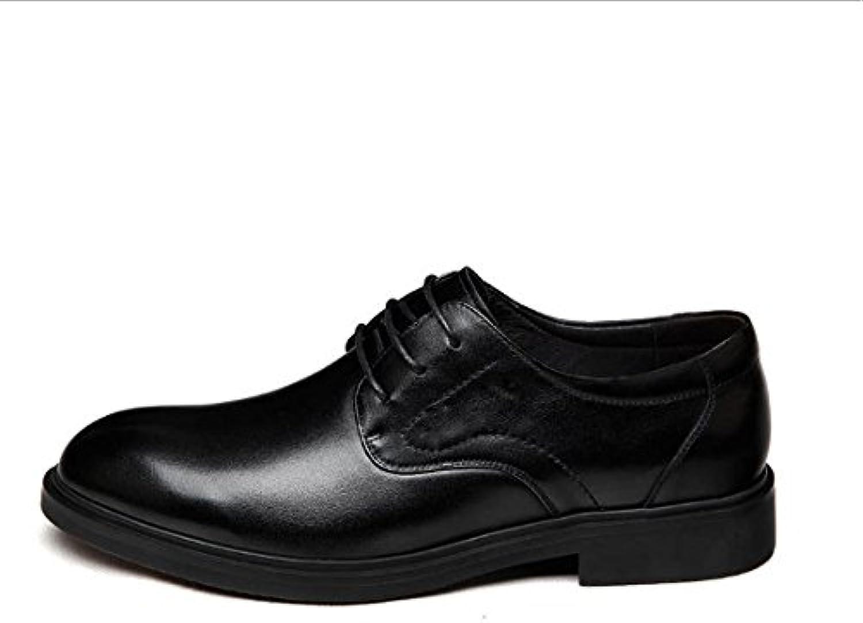 NIUMJ Lederschuhe Für Herren Lackleder Schuhe Britische Schuhe Koreanische Version Mode Mode Schuhe Schnürschuhe