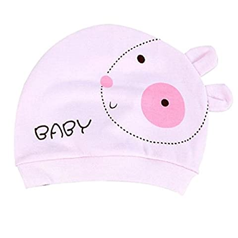 pour 0-3 mois bébé, Amlaiworld Automne bébé chapeau coton chaud Toddler Beanie bonnet (Rose)