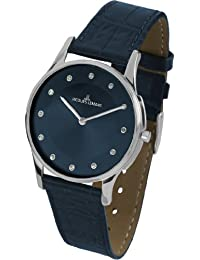 Jacques Lemans Damen-Armbanduhr XS london classic Analog Quarz Leder 1-1778J