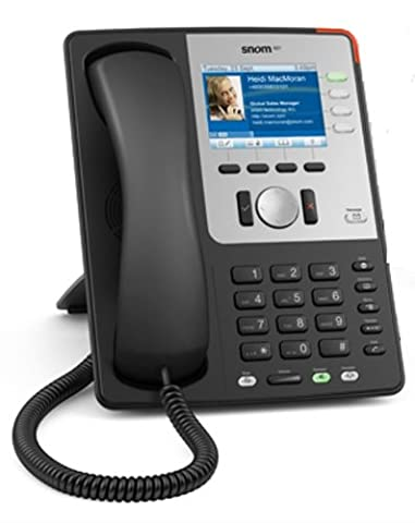 Snom 821 Exklusives Businesstelefon schwarz