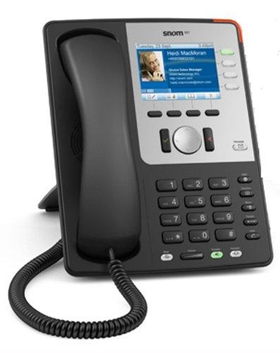 Snom 821 Executive Business phone Black 4 Line Business Phone