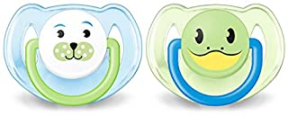 Philips AVENT SCF182/34 - Chupete diseño animales (de 6 a 18 meses, sin BPA, 2 unidades), surtido: colores aleatorios (B004G8QH0Y) | Amazon price tracker / tracking, Amazon price history charts, Amazon price watches, Amazon price drop alerts
