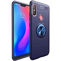 SHUYIT Xiaomi Mi A2 Lite/Redmi 6 pro Funda con Anillo Soporte, Slim 360