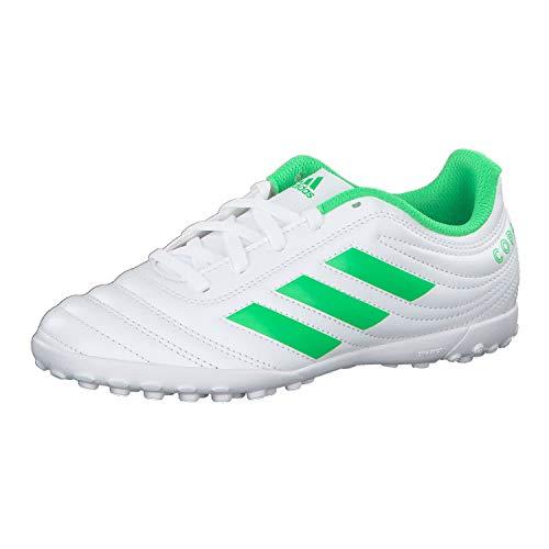 Adidas Copa 19.4 TF J, Zapatillas de Deporte Unisex niño, Multicolor Ftwbla/Limsol/Ftwbla 000, 38...