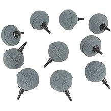 Zerone 10 x 50 mm 2 Pulgadas Acuario Aire Piedra Pecera Tanque Accesorios Piedras de Aire