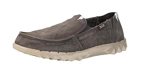 Hey Dude Farty Mud Washed Canvas Mens Slipons Shoes: Amazon