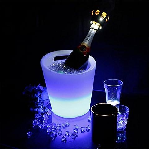 XIAOMINZI Bar Secchiello Per Il Ghiaccio Telecomando Luminoso Botti Di