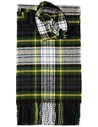 Pure Laine D Agneau Écossais Écharpe Tartan Clan Écossais Diverses Tartans 02a9416e29e