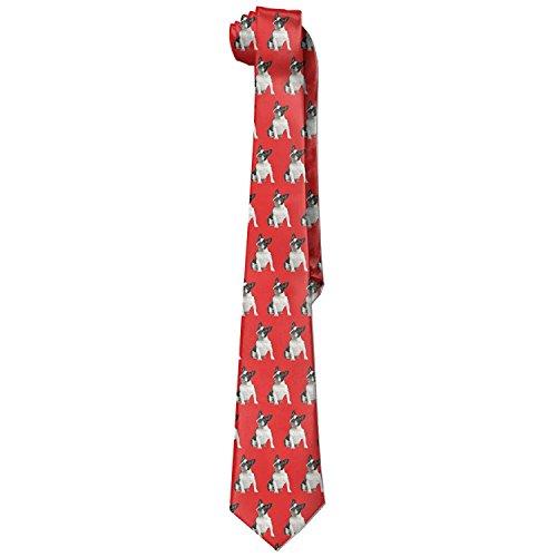 French Bulldog Animal Dog Necktie Skinny Ties