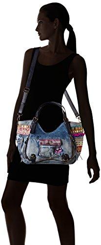 Desigual Bols Rotterdam Exotic Jeans Handtasche 5001