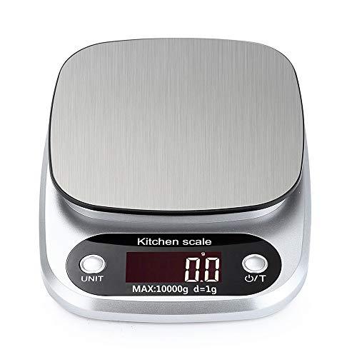 Báscula de Cocina, Smart Digital Báscula con Pantalla LCD para Cocina de...