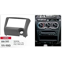 CARAV 11-193 doble DIN Marco de radio para TOYOTA Yaris- Eco- Vitz- Lugar