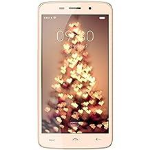 "Haehne HOMTOM HT17 PRO - 5,5"" IPS HD Android 6.0 4G Smartphone, Quad Core 2GB+16GB, 13MP+5MP Duales Cámaras Doble SIM, Desbloquear la Huella Digital, 7,9mm Espesor La Carga Rápida Móvil, Oro"