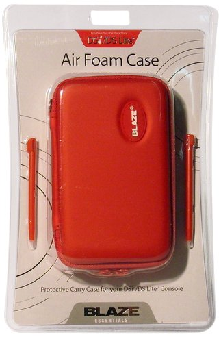 Ds Lite/Dsi Air Foam Case Red [Importación italiana]