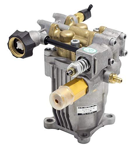✦ Pompe de remplacement horizontale 3000 PSI 200 bar & 6.5 HP Pompe de remplacement pour machine à laver ✦ Tête en laiton, modèle nr. PA000-PW29/2.5C