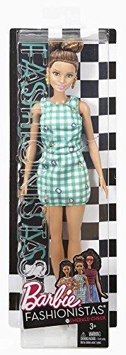 Image of Barbie DVX72 Fashionistas Emerald Check Original Doll