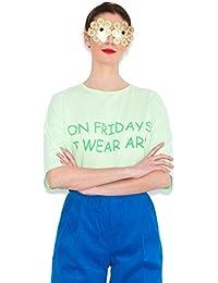 Agatha Ruiz de la Prada Camiseta Verde Viernes