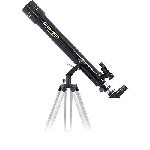 Omegon Télescope AC 70/700 AZ-2, télescope pour Le Ciel...