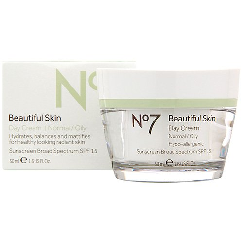 Boots No7 Beautiful Skin Day Cream SPF 15 - Normal / Oily by Boots [Beauty] (English Manual)