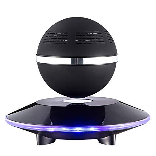 BUY-TO Floating Drahtlose Lautsprecher Tragbarer Bluetooth-Player Geburtstagsgeschenk,Black