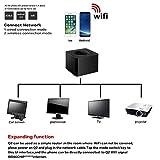 Gaddrt Q4 Wifi Mirroring Dongle Mini Display Ricevitore Wireless Schermo Mirroring Adattatore 2.4G Wifi Display Dongle