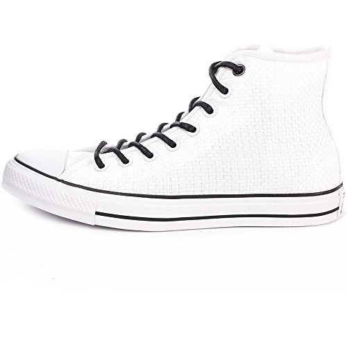 Converse Chuck Taylor All Star, Sneakers Hautes Mixte Adulte Blanc