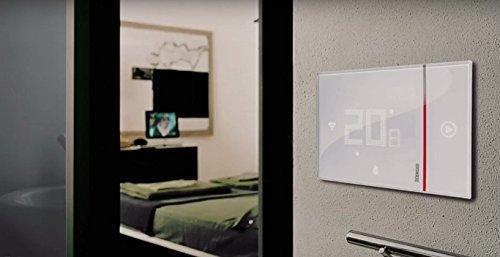 BTicino Smarther SX8000W Termostato Connesso da Muro con Wi-Fi Integrato, 5 - 40 °C, Bianco