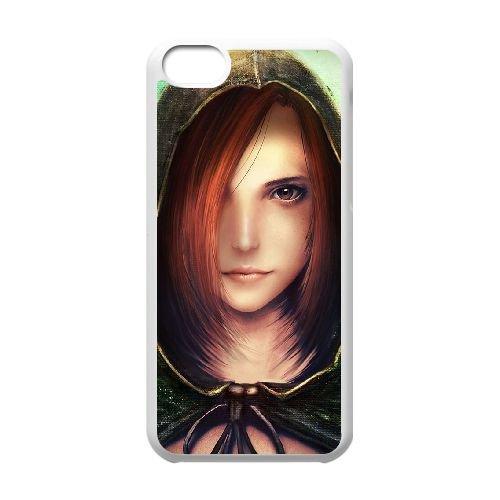 Dark Souls coque iPhone 5C Housse Blanc téléphone portable couverture de cas coque EBDXJKNBO15540