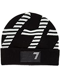 Emporio Armani EA7 bonnet homme train graphic noir