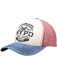 Wilhelm Sell® Gorra de béisbol con Estilo en Estilo Vintage y Usado NYPD  9ef0ace2af6