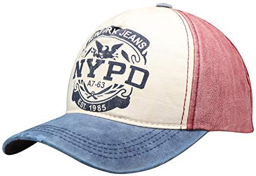 Wilhelm Sell® Elegante Gorra béisbol NYPD Estilo